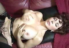 Big boobs black lesbian candice and nyomi lick pussy