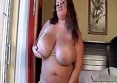 Let Me Tit Fuck This Fat Slob Rose Valentina!