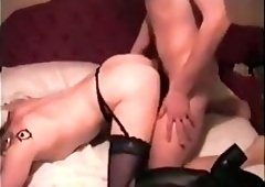 homemade British milf blowjob cumshot missionary lingerie