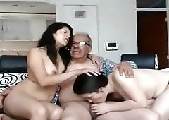 grandpa threesomes