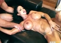 Double Penetration sex video featuring Keiran Lee, Toni Ribas and Jewels Jade