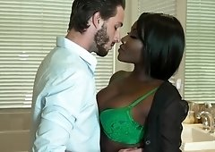 Ebony gf Osa Lovely gets rough anal for anniversary