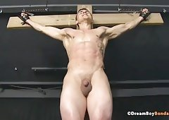 Crucifixion male bdsm
