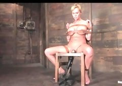 Carly Parker in Welcome Carly Parker And Her Amazingcalifornia Body To HogTied. - HogTied