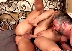 Unbelievable whore having a fetish fun