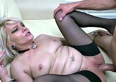 Dutch MILF loves slamming her favorite boy toy
