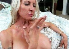 Tits fuck porn video featuring Emma Starr and Preston Parker