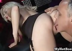 Blonde haired beauty Syren Sexton will get your d