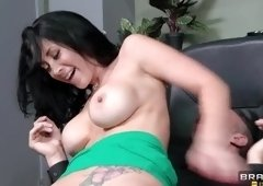 Dick sucking sex video featuring Keiran Lee and Jayden Jaymes