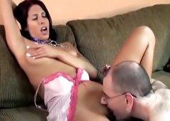 Crazy pornstar Lavender Rayne in fabulous amateur, cunnilingus sex video