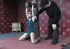 Sensual infernal restrains is what lusty bitch Billy Nyx is ready for