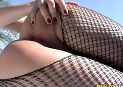 Dick sucking porn video featuring Britney Bitch and Tony Tigrao
