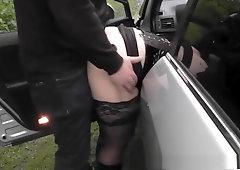 Old Busty BBW Slut Samantha 38G Drills Pussy With Sex Toy