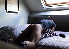 Pillow Humping Close Up