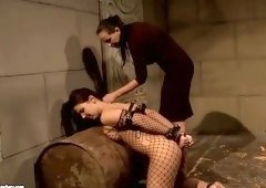 Lesbian sex video featuring Maria Bellucci and Mandy Bright