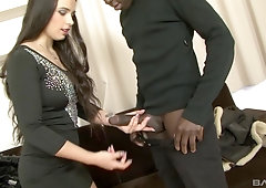 Mira Cuckold loves getting her tight ass stretched by a big black dick