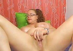 Webcam - Colombian granny Milf teasing Part 2
