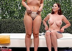 Lillian and Aria don't want more than only one hard dick