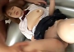 Sexy sexual big tit massage with Megumi Hamasaki