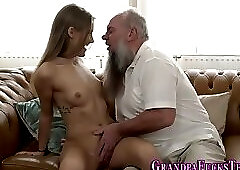 Teen gets taboo oral sex
