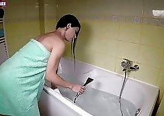 POV : Magic blowjob shower