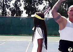 SheDoesAnal - Tennis Babe Ana Foxxx Anal Lessons With Coach