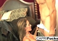 Capri Cavanni in Capri Makes This Fantasy Into Reality - CapriCavanni