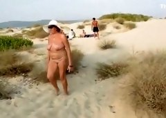 My wife is proud to be naked on the beach