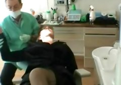 French woman whore used by the dentist 1