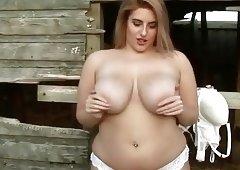 Busty Raphaella Farm