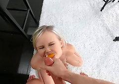 Natalia Queen seducing her boyfriend into taking the day off