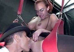 Steamy porn fetish with voluptuous Keira Farrell
