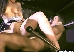 Fire Guy Seduced By A Hot Chick video