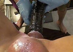 Strapon, fisting, hand job, pretty nurse