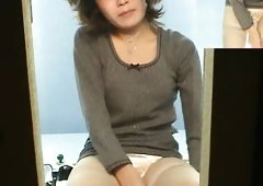 Admirable and naughty japanese lady is showing her pussy