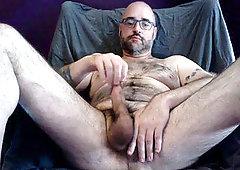 big dick in seinem ball sack