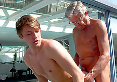 Old gay men with twinks