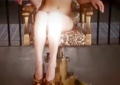 Hottest Japanese chick Mai Ayane in Incredible POV, Foot Job JAV movie