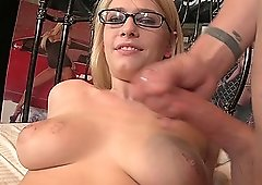 Screwing in various poses is what Allie James likes the most
