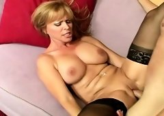 Horny MILF Nicole Moore is finally having sex and enjoying every second of it