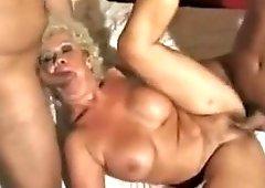 Dp porno granny Double penetration: