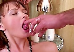 Autumn tight wet pussy penetrated hardcore doggystyle