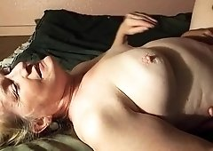 Voluptuous mature blonde gets her juicy snatch eaten out