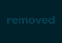 Naked blonde woman is screaming from pleasure