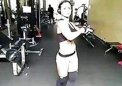 Marlina ripped muscle MILF