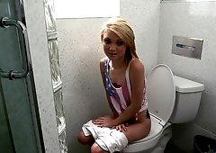 Something caught sucking dick in toilet idea advise
