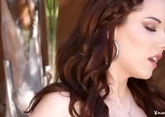 Hottest pornstars Amanda Logue, Desiree Vincent, Sunny Jay in Incredible Striptease, Solo Girl porn movie