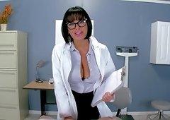Stunning POV porn scenes along a busty nurse in heats