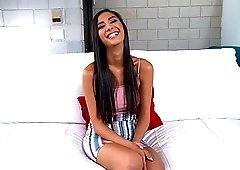 Cute hottie Gianna Dior moans while a neighbor bangs her