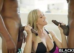 Brandi Love Gets Blacked